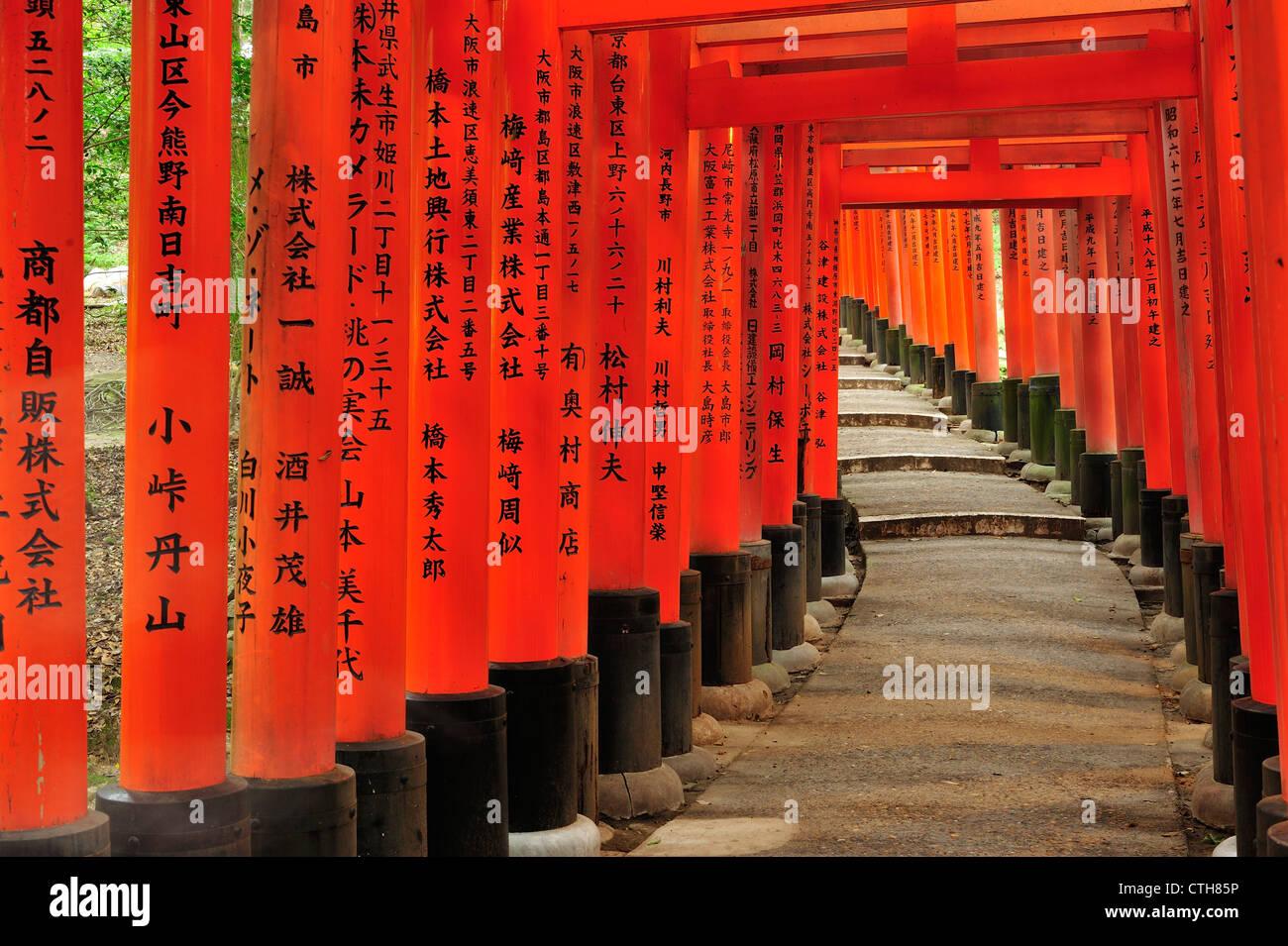 Fushimi Inari Taisha, Kyoto, Japan - Stock Image