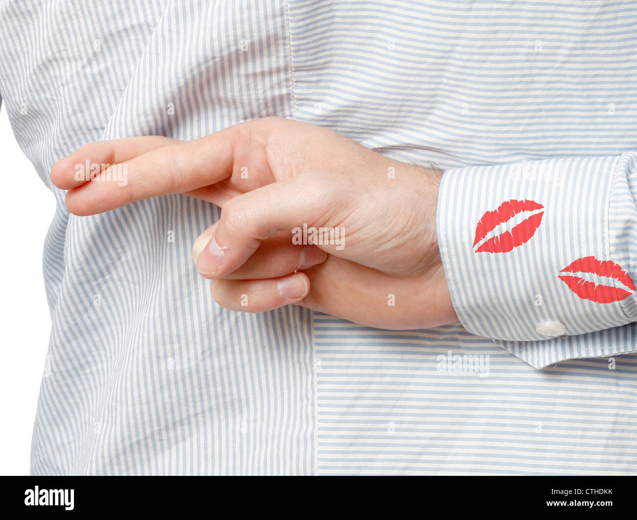 Adultery - Stock Image