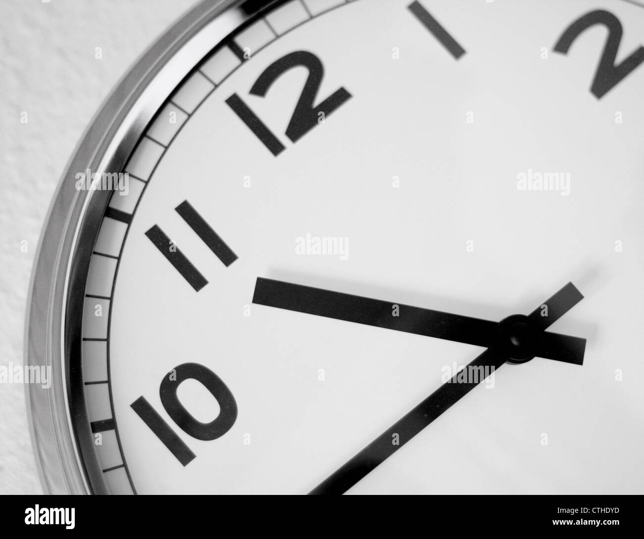 Clock - Stock Image