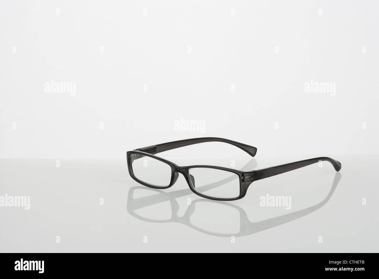 eyewear on neutral background - Stock Image