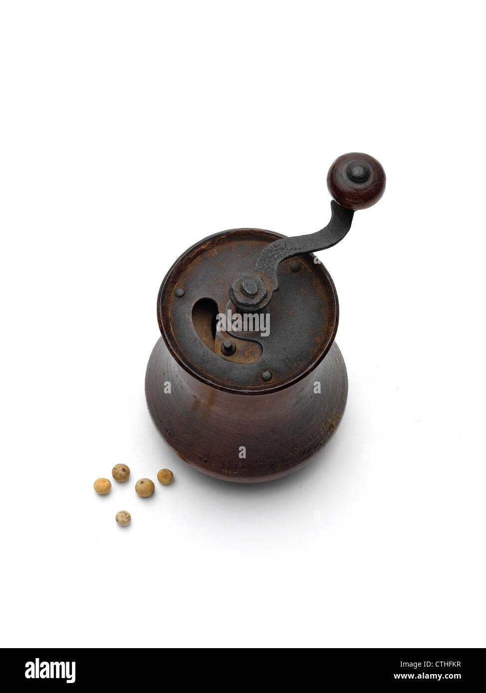 pepper mills - Stock Image