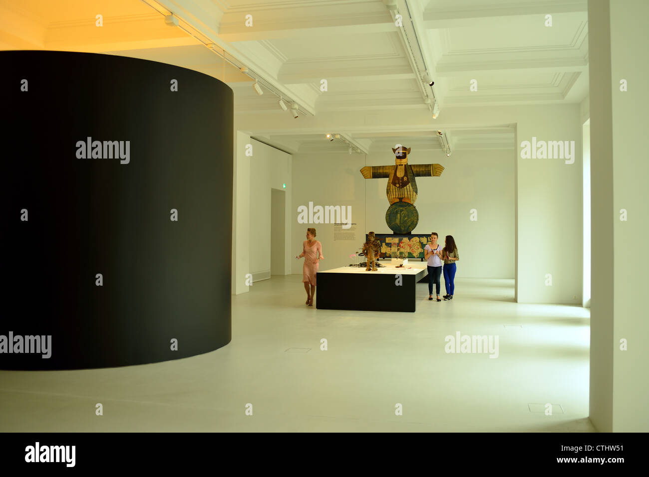 Museum of Cultures, Basel, Switzerland - Stock Image