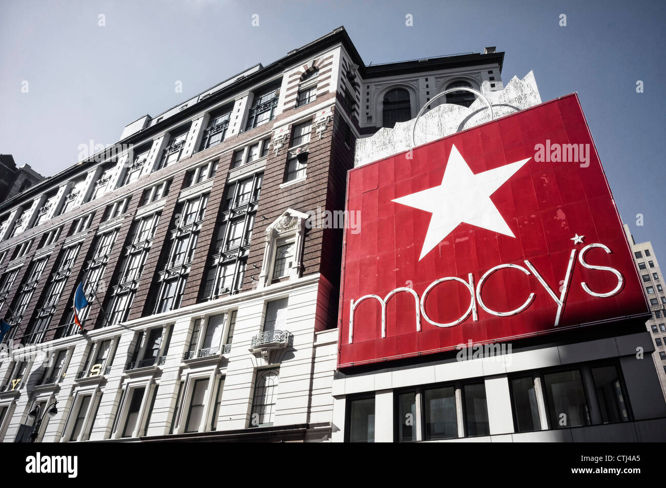 Marcys biggest warehouse in 34 th street, New York, USA, - Stock Image
