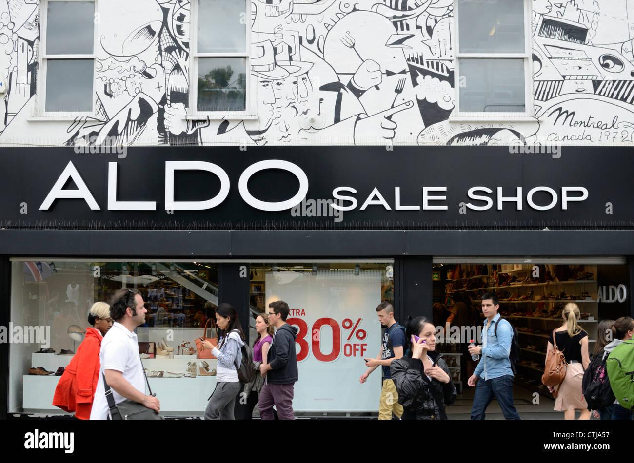Aldo Sale Shop, Camden Town, London, UK