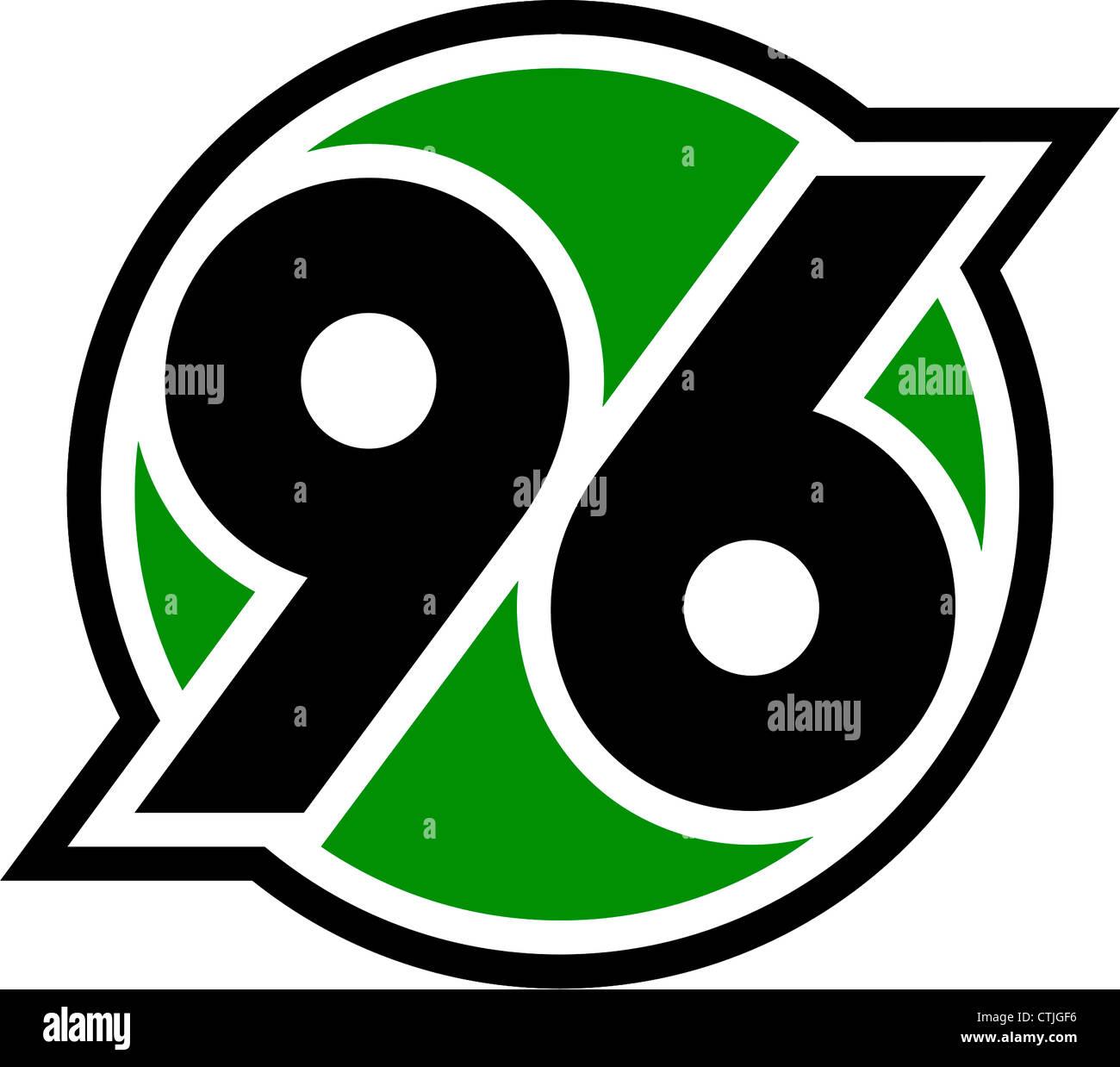 Logo of German football team Hanover 96. - Stock Image