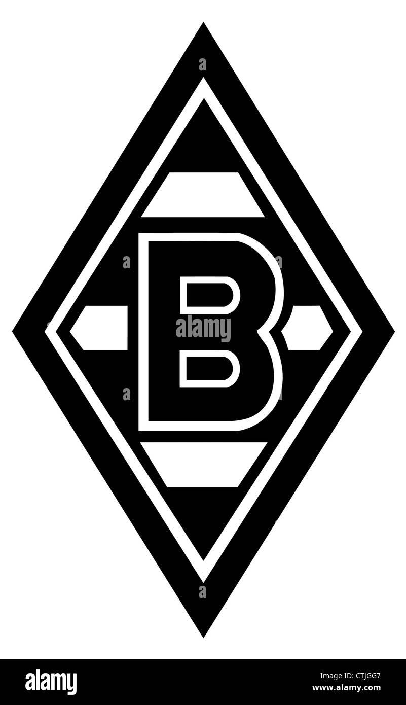 Logo of German football team Borussia Moenchengladbach. - Stock Image