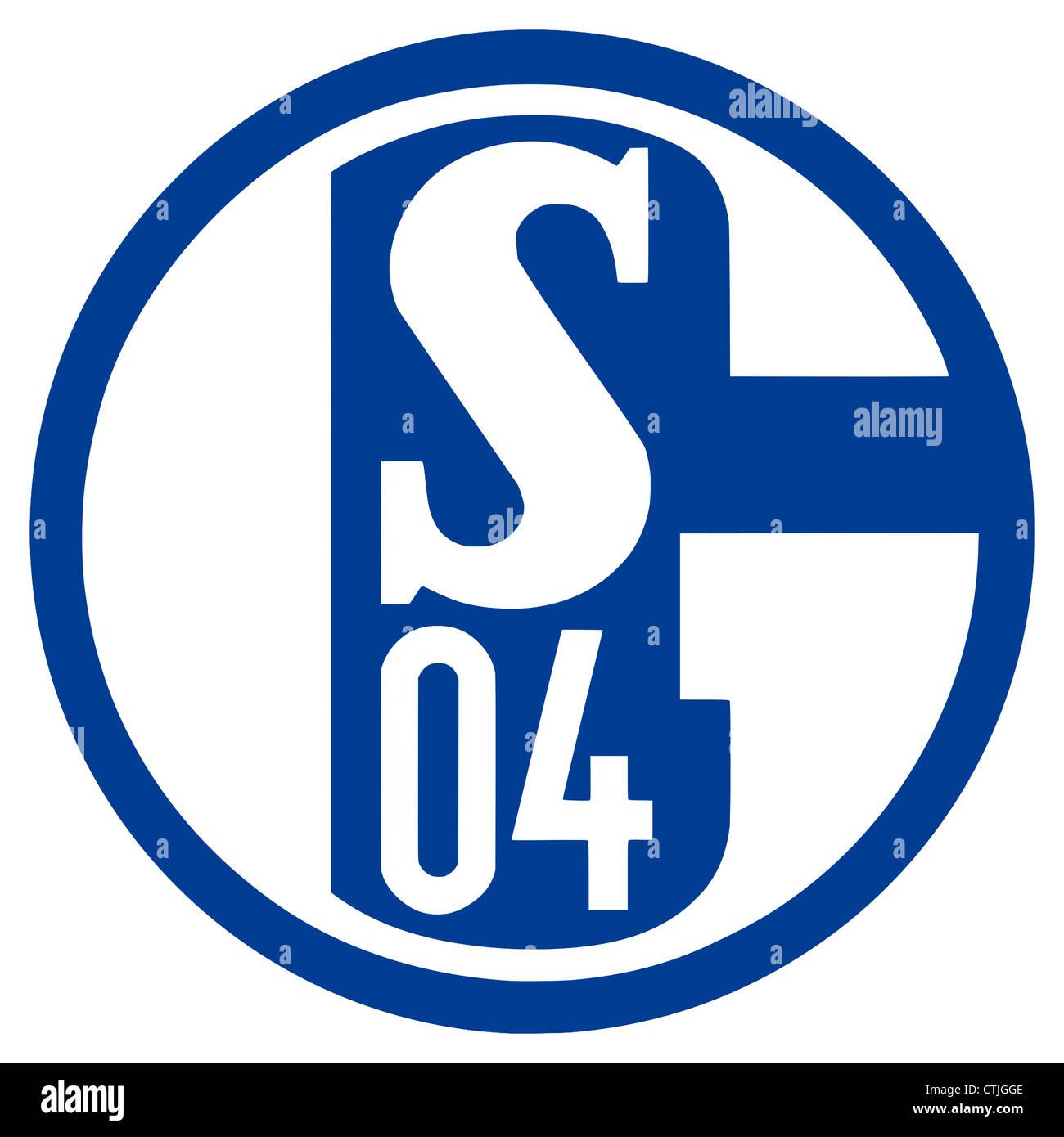 Logo of German football team FC Schalke 04. - Stock Image