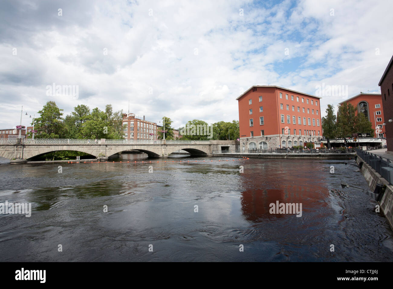 Cityscape, Tampere Finland - Stock Image