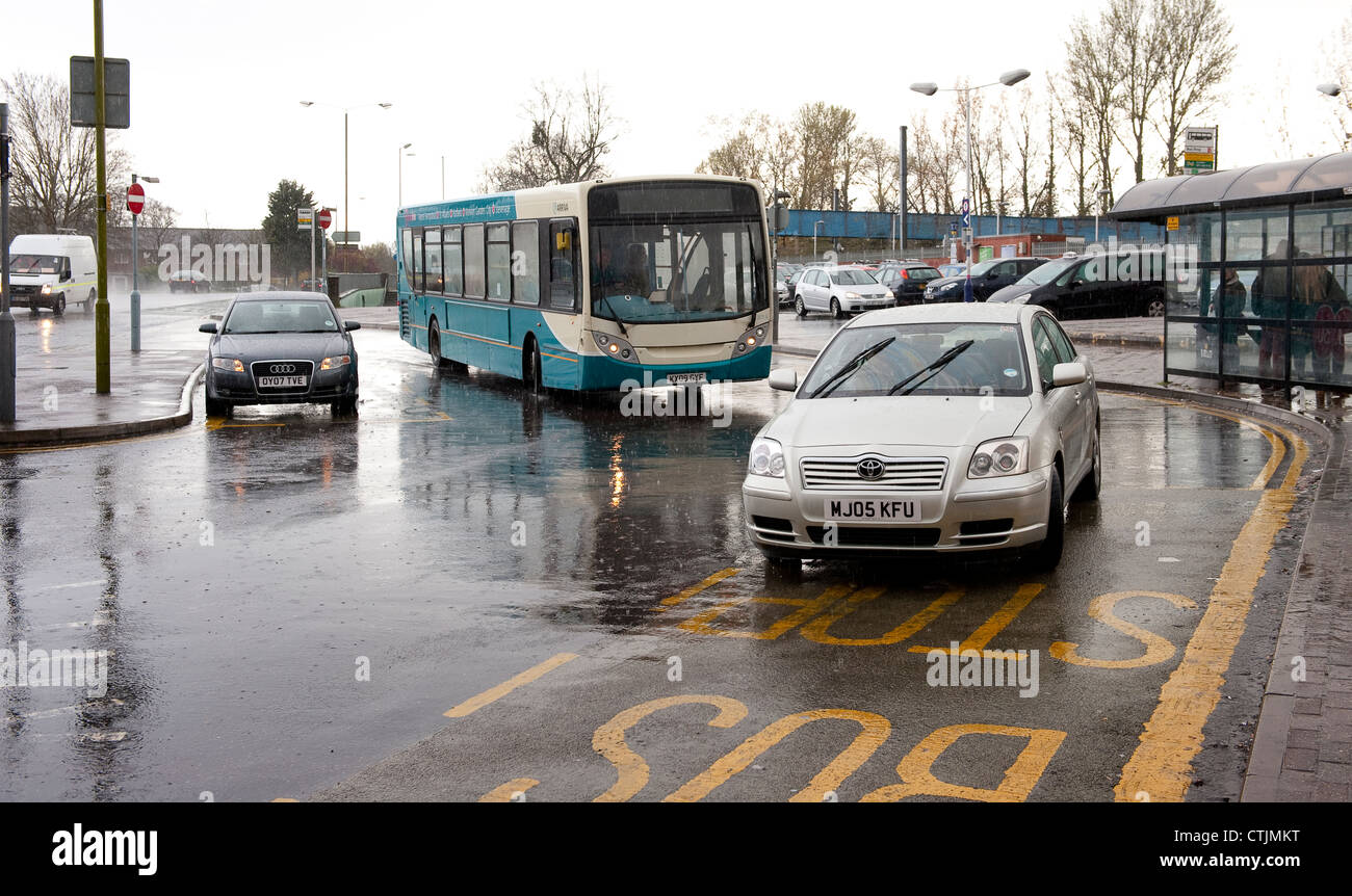 Car Parking Near New York Street Manchester