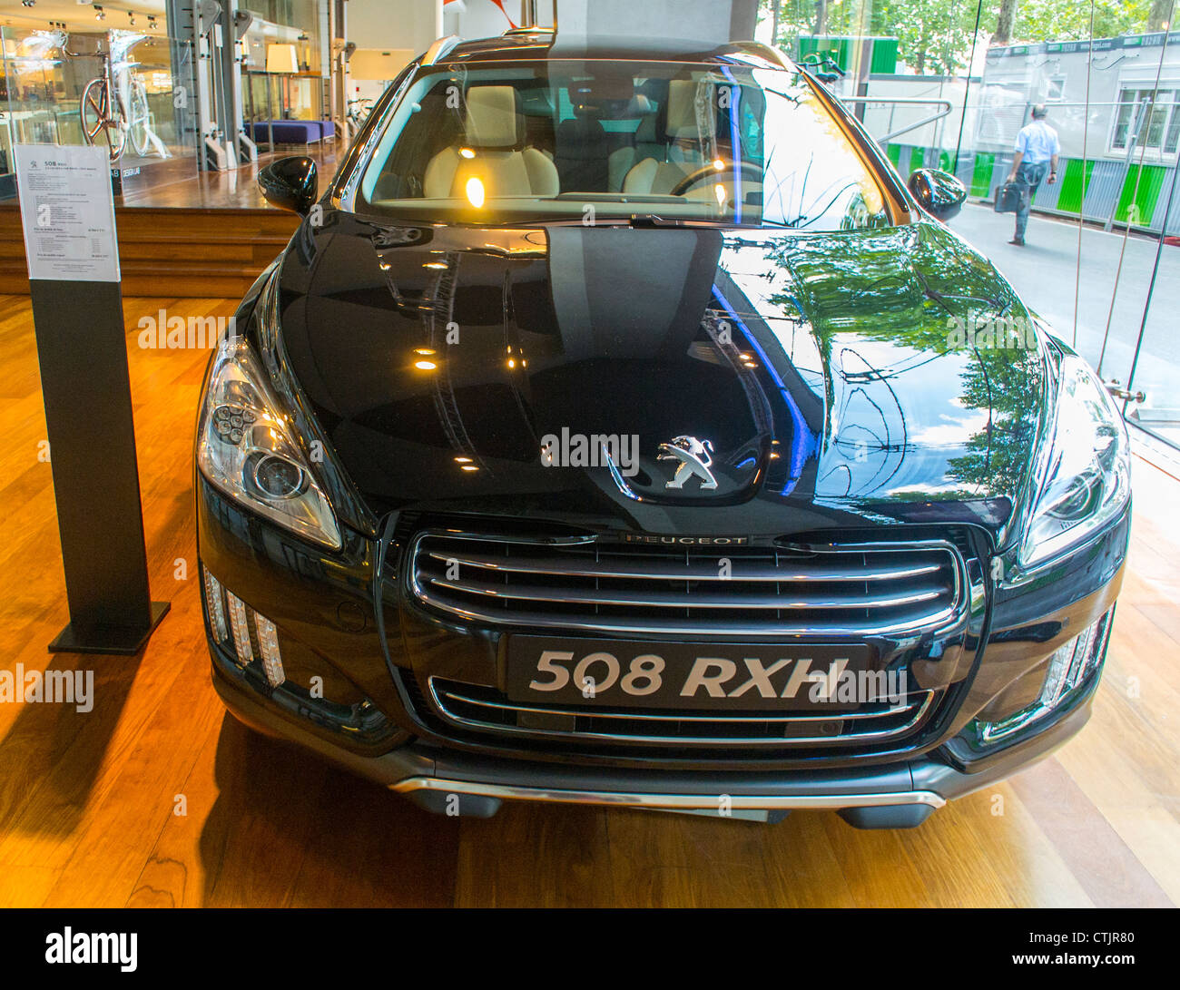 Paris, France, Peugeot (PSA) French Car Company Corporate Stock ...