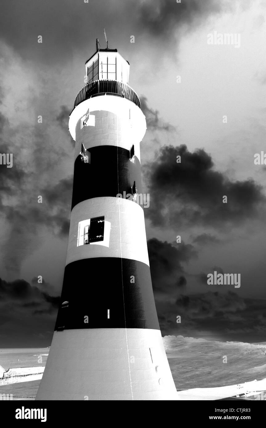 Lighthouse black and white stock photos lighthouse black and white