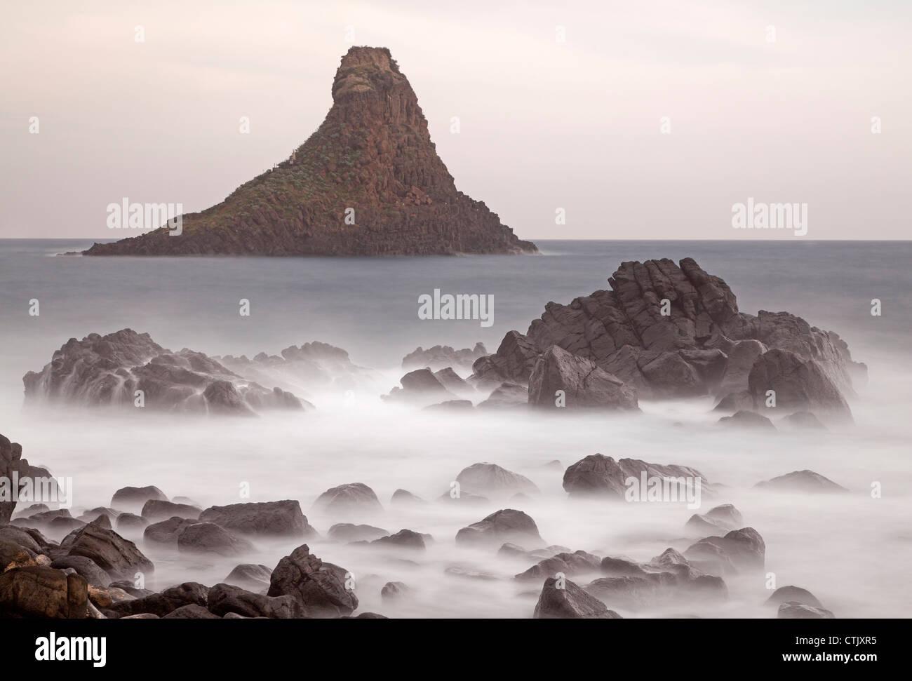 Coast of Aci Trezza, Italy - Stock Image