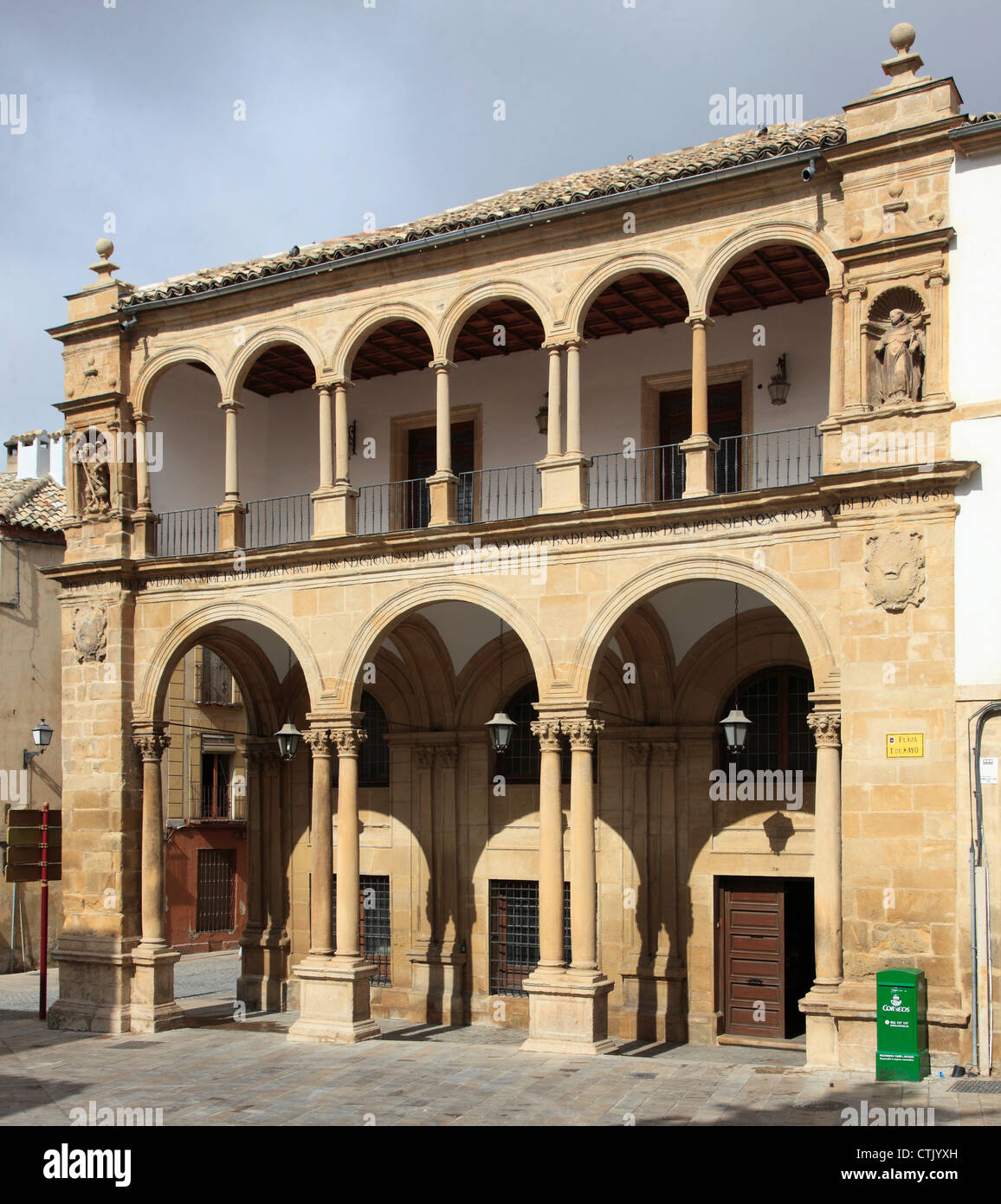 Spain, Andalusia, Ubeda, Antiguo Ayuntamiento, old town hall, - Stock Image