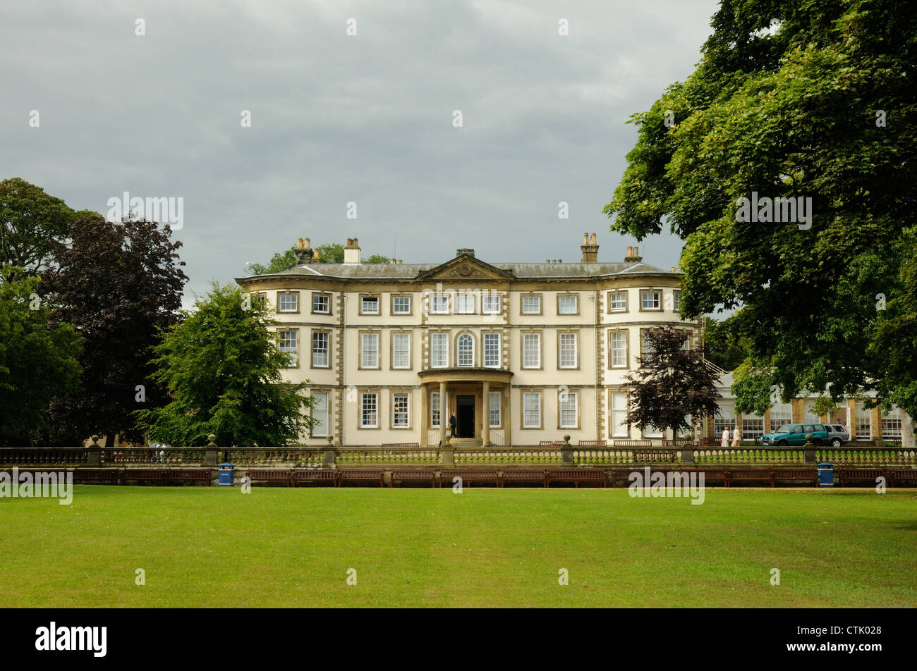 Sewerby Hall, East Yorkshire, England Stock Photo