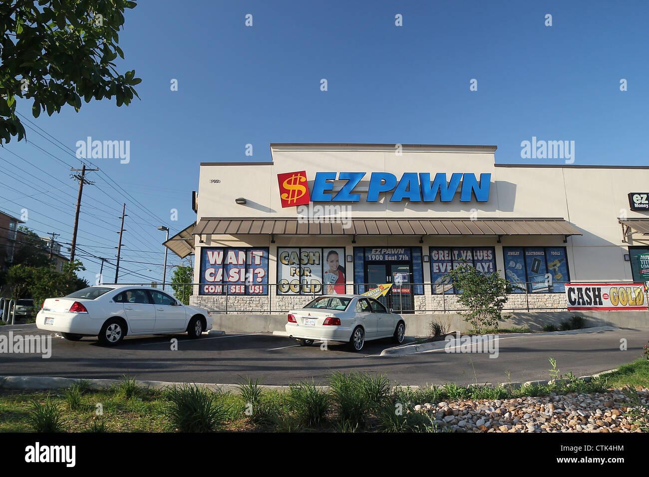 Pawn Shop Austin >> A Pawn Shop In Austin Texas Stock Photo 49593200 Alamy