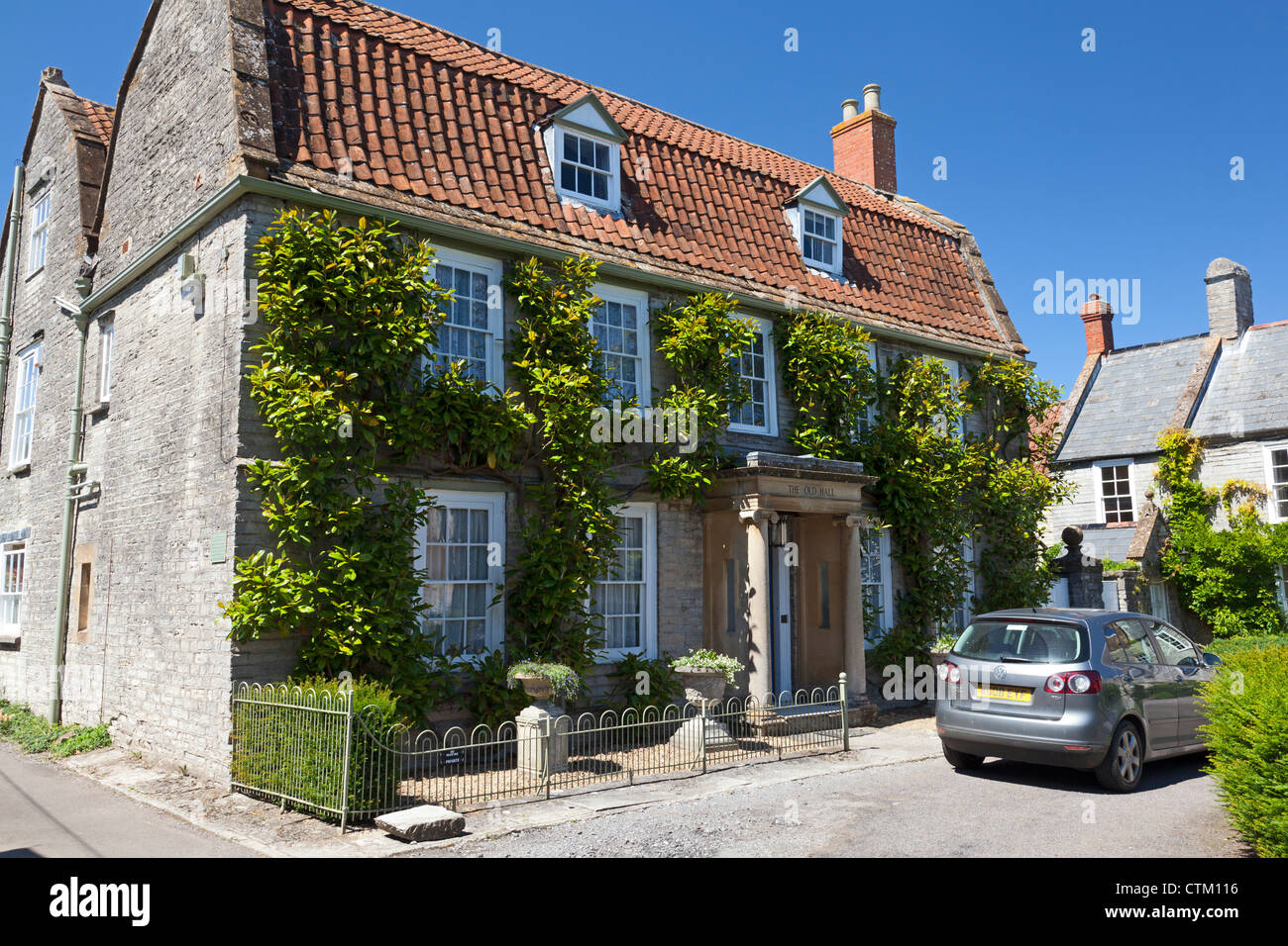 The Old Hall, Somerton, Somerset - Stock Image