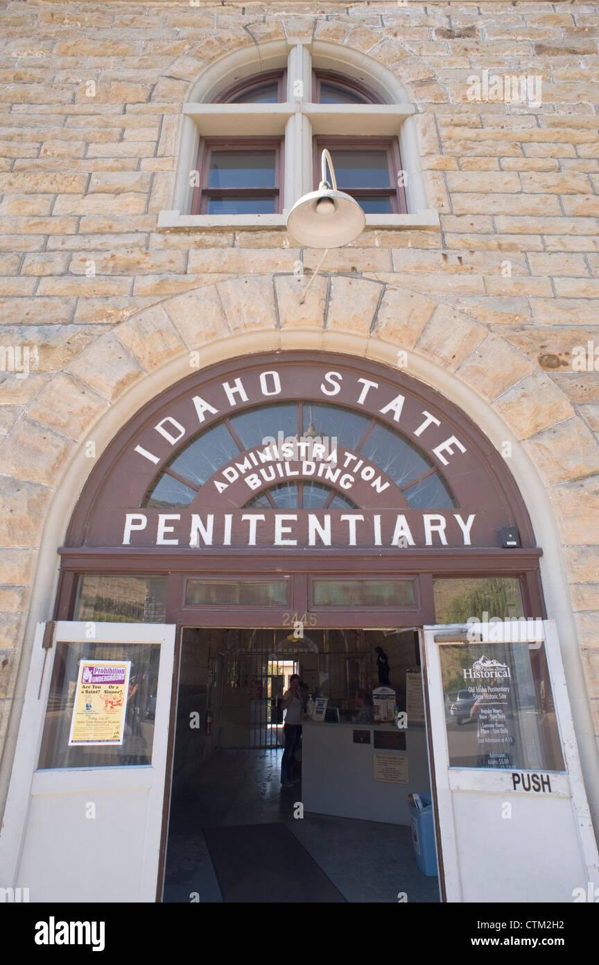 Old Idaho State Penitentiary, Boise, Idaho, USA. - Stock Image