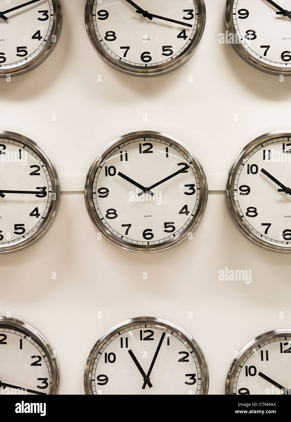 Clock Display Stock Photos Clock Display Stock Images Alamy