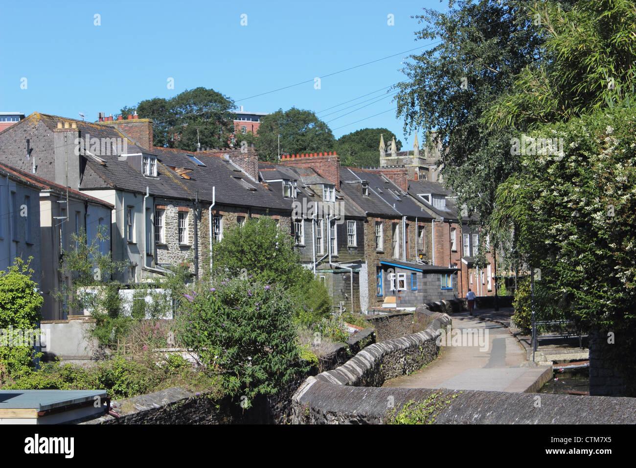 The Leats Truro Cornwall UK - Stock Image