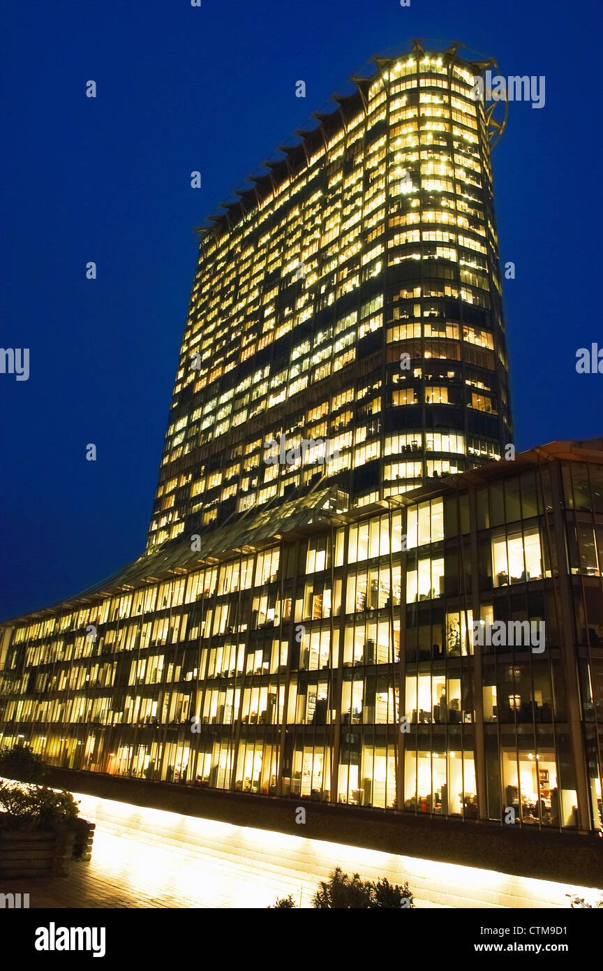 Citypoint Finsbury Circus, City of London, UK. - Stock Image
