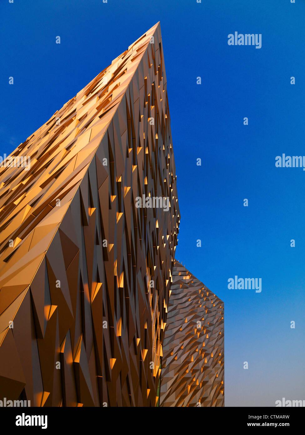 Titanic Belfast - Stock Image