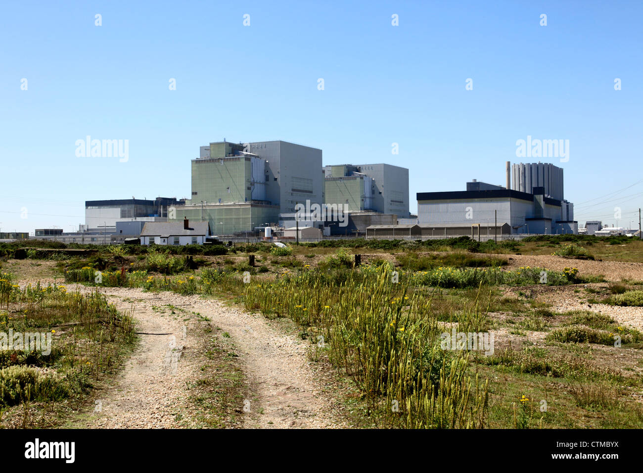 Dungeness B Nuclear Power Station Kent - Stock Image