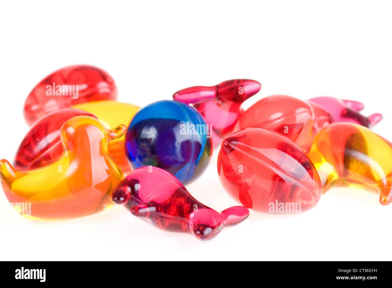 Bath beads for children Stock Photo