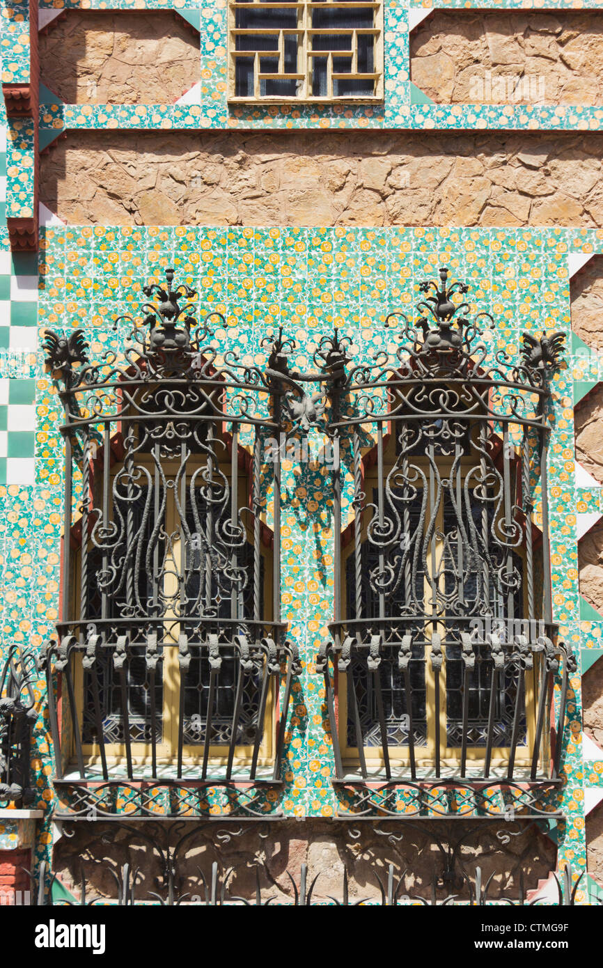 Decorative Grill Barcelona Stock Photos & Decorative Grill
