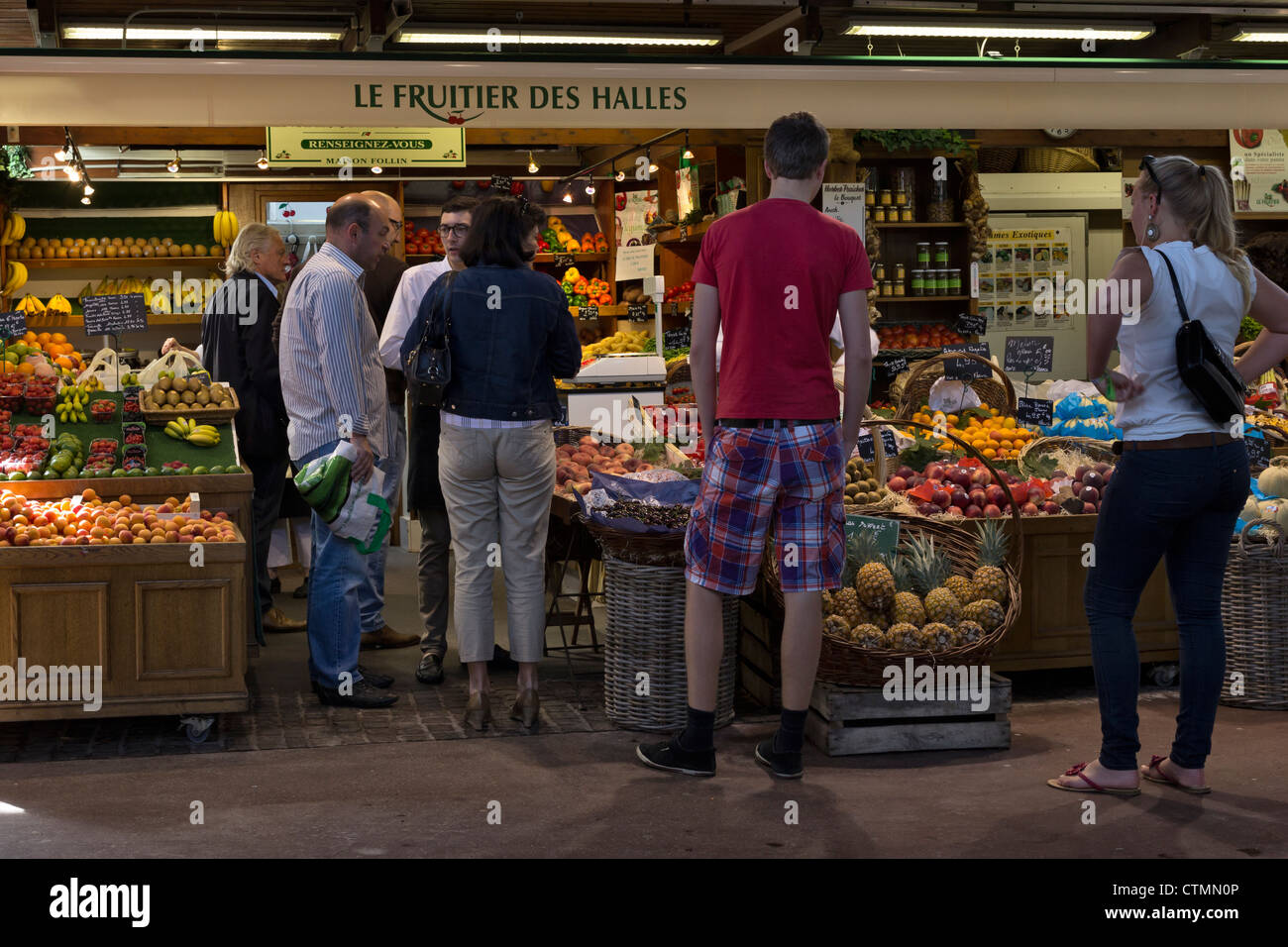 Food normandy shop shopping stock photos food normandy shop shopping stock images alamy - Carrefour market montpellier port marianne ...
