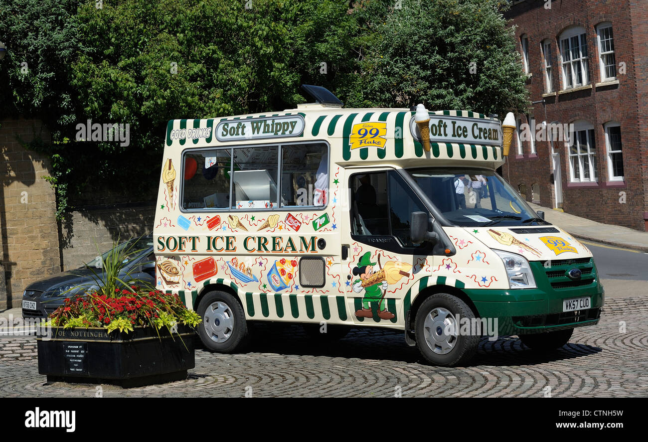 5c9615e6132d soft ice cream van nottingham england uk Stock Photo  49646965 - Alamy