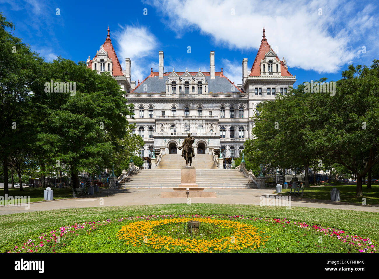New York State Capitol, Albany, New York State, USA - Stock Image