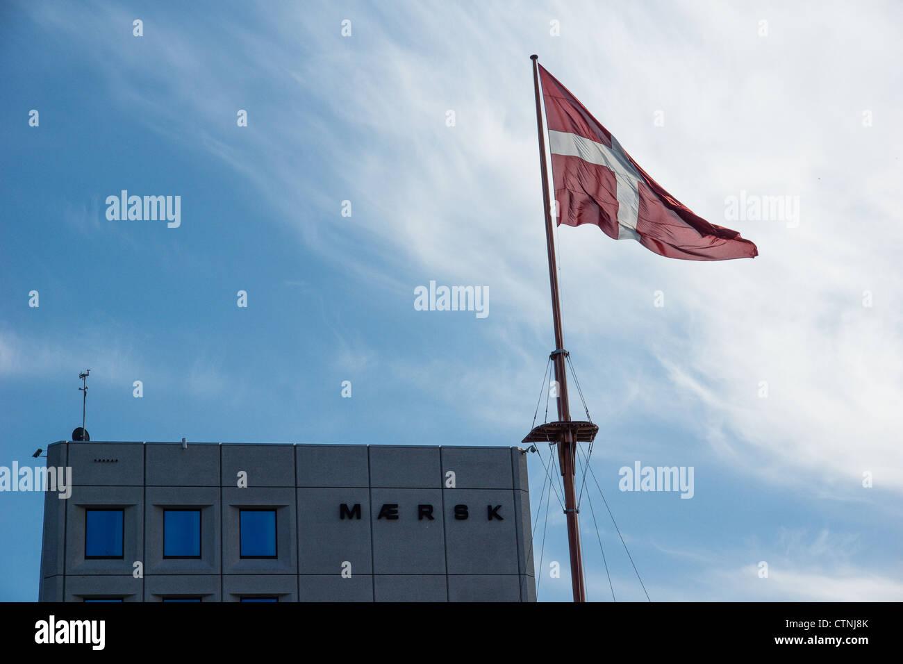 Maersk headquarter in Copenhagen - Stock Image