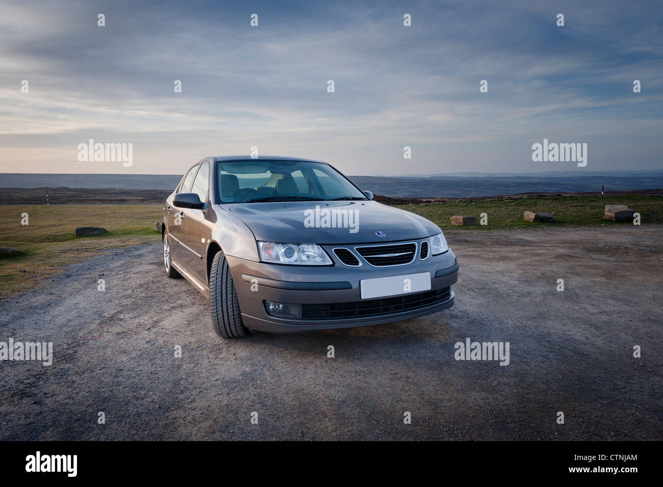 Saab 9-3 - Stock Image
