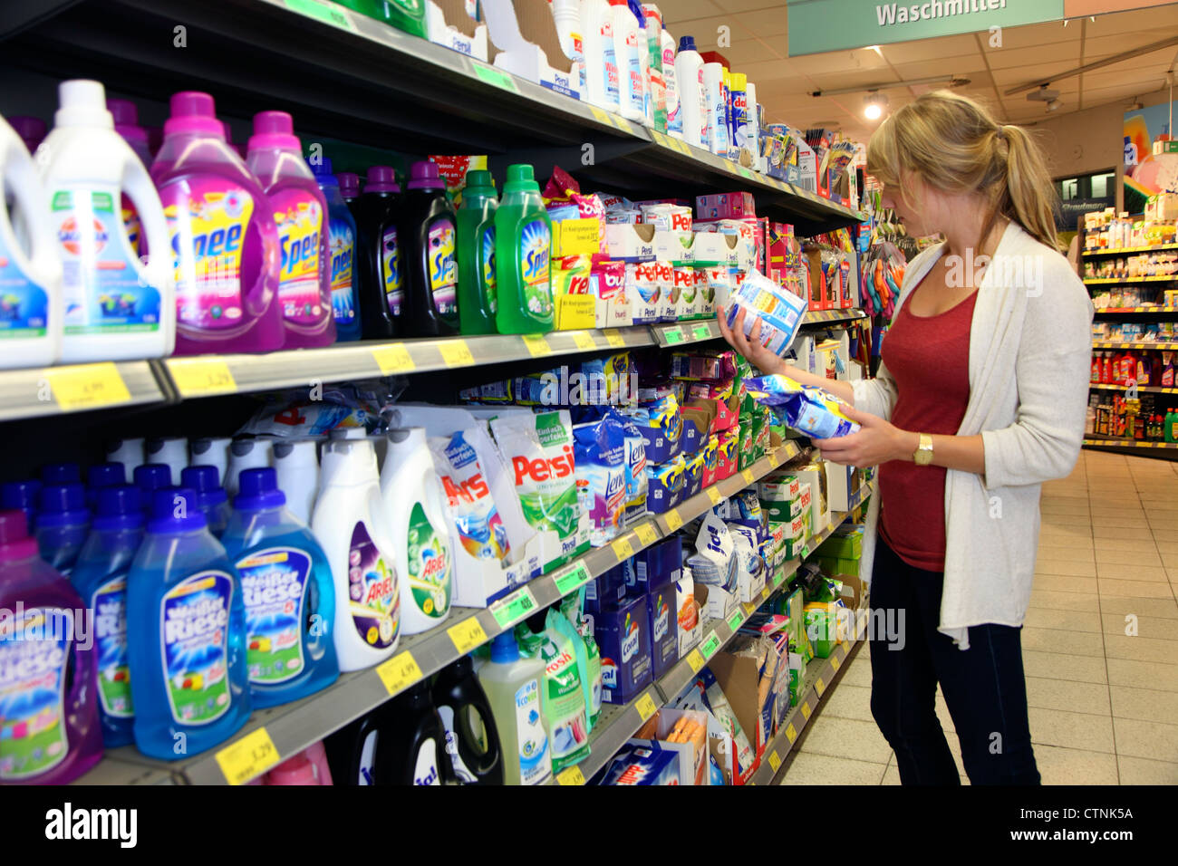 Detergent Store High Resolution Stock Photography and Images - Alamy
