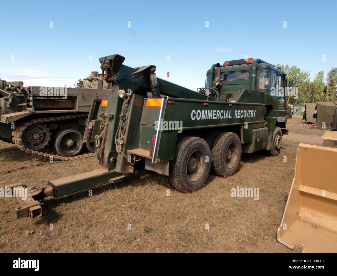 Scammell Crusader, Heavy Recovery Stock Photo