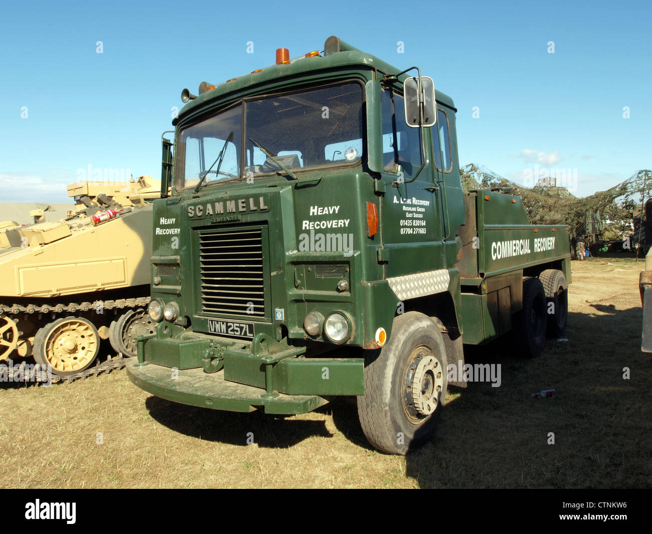 Scammell Crusader, Heavy Recovery - Stock Image