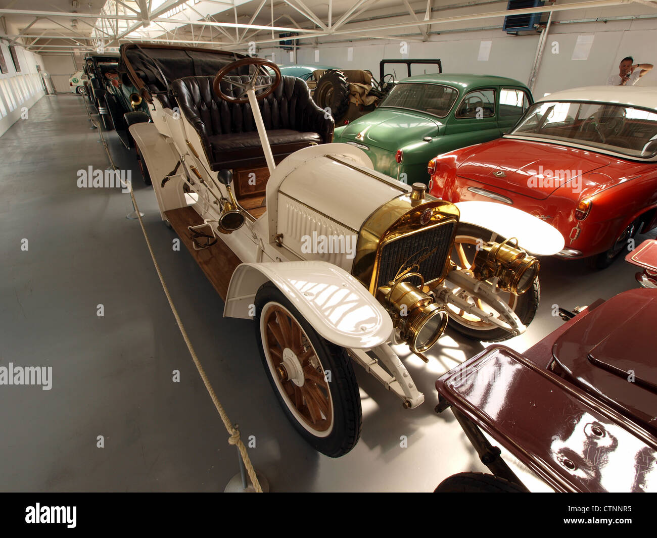 1909-1911 Laurin & Klement G - Stock Image