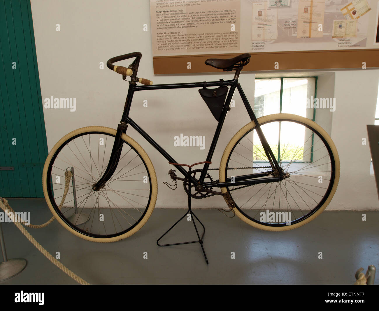 1896 Laurin & Klement, bicycle Slavia - Stock Image