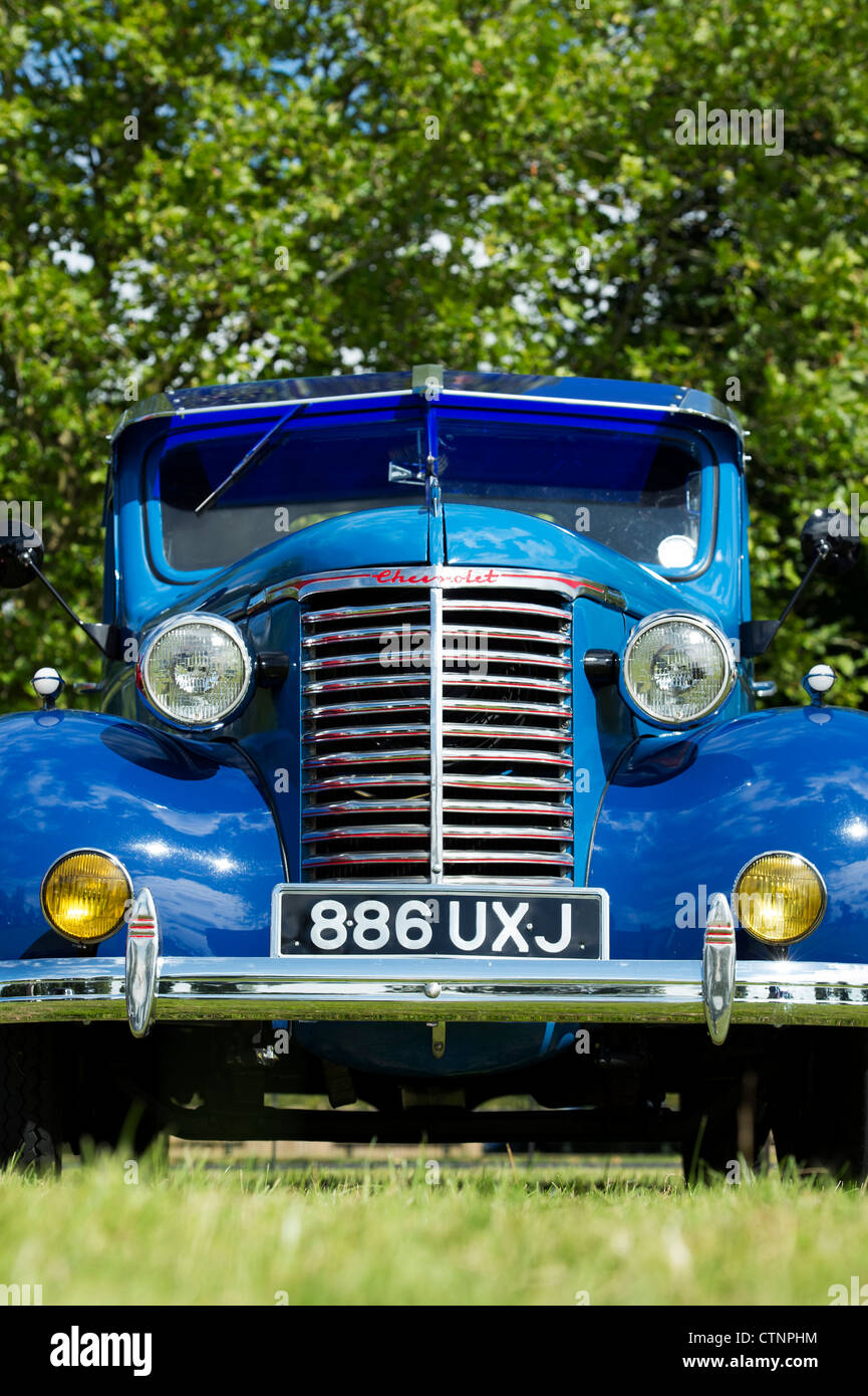 Chevy Vintage American Pick Up Truck Usa Stock Photos & Chevy ...
