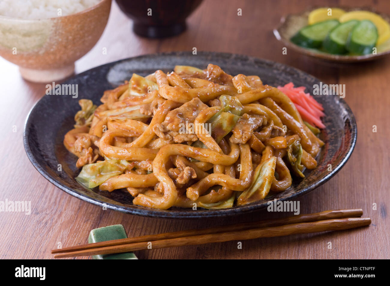 Ricetta Yaki Udon.Yaki Udon High Resolution Stock Photography And Images Alamy