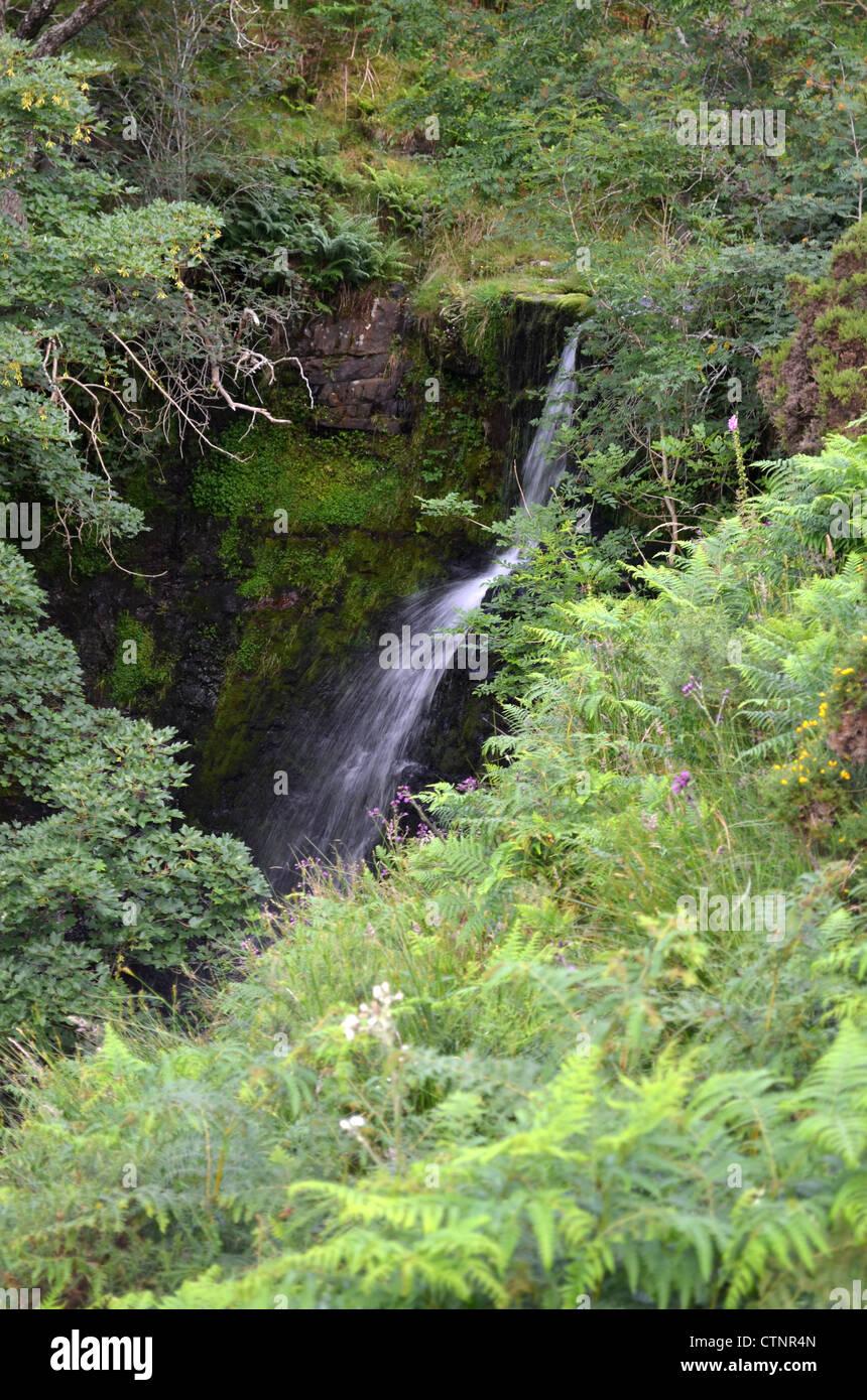 Torpantau waterfalls number 3186 - Stock Image