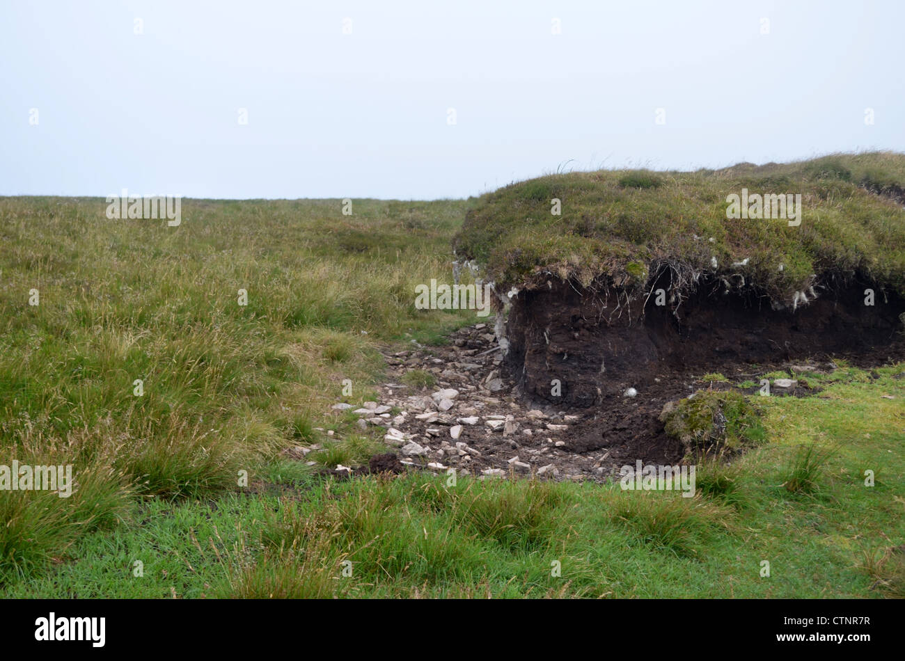 wind erosion number 3190 - Stock Image
