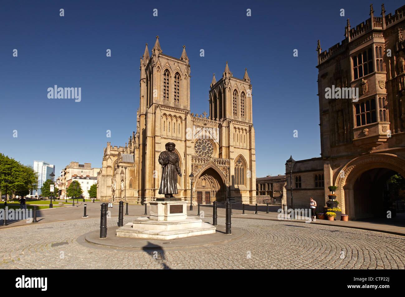Bristol Cathedral, Bristol, England, UK - Stock Image