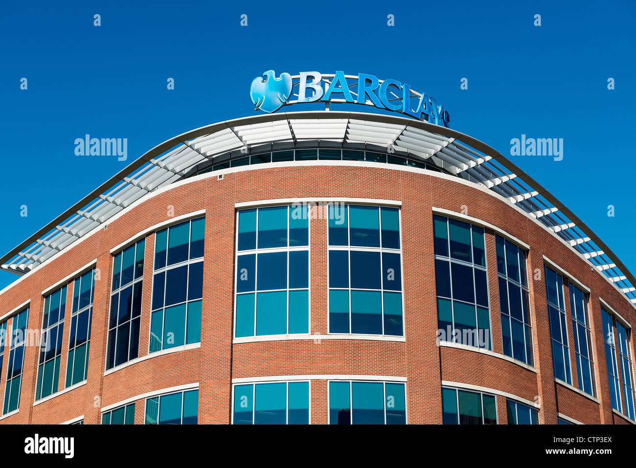 Barclays corporate offices, Wilmington, Delaware, USA - Stock Image