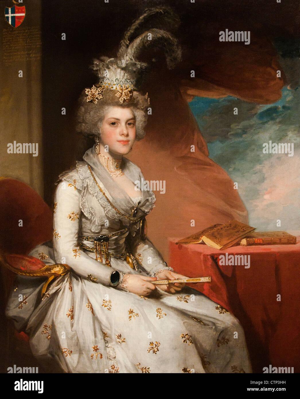 Matilda Stoughton de Jaudenes 1794 Gilbert Stuart American United States of America - Stock Image