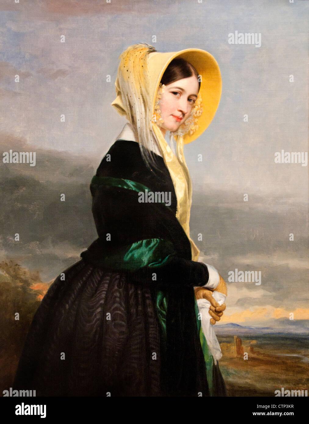 Euphemia White van Rensselaer 1842 George P.A. Healy American United States of America - Stock Image