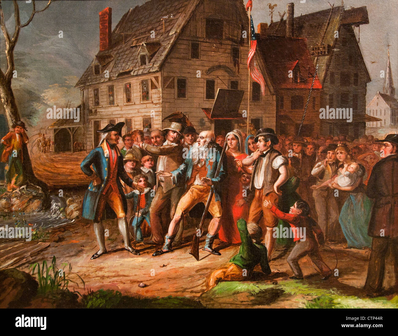 Rip van Winkle 1833 Albertis del Orient ( Washington Irving story ) American United States of America - Stock Image