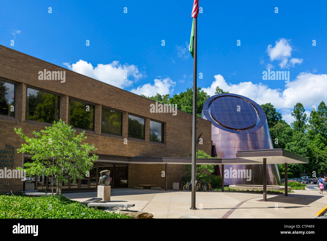 Cleveland Museum of Natural History, University Circle district, Ohio, USA - Stock Image