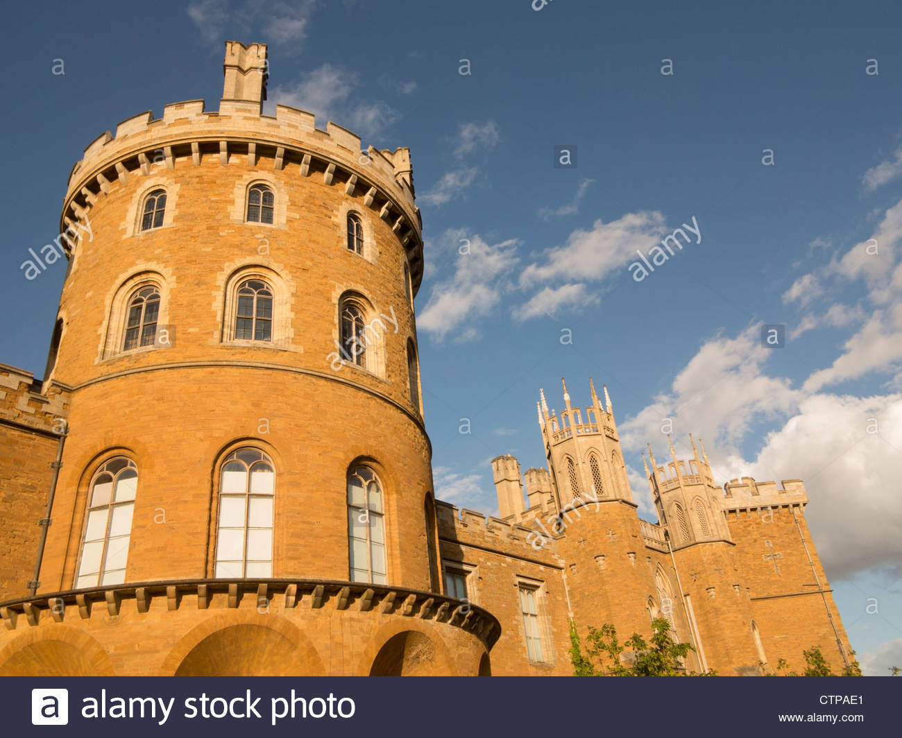 Belvoir Castle Leicestershire Seat of Dukes of Rutland - Stock Image