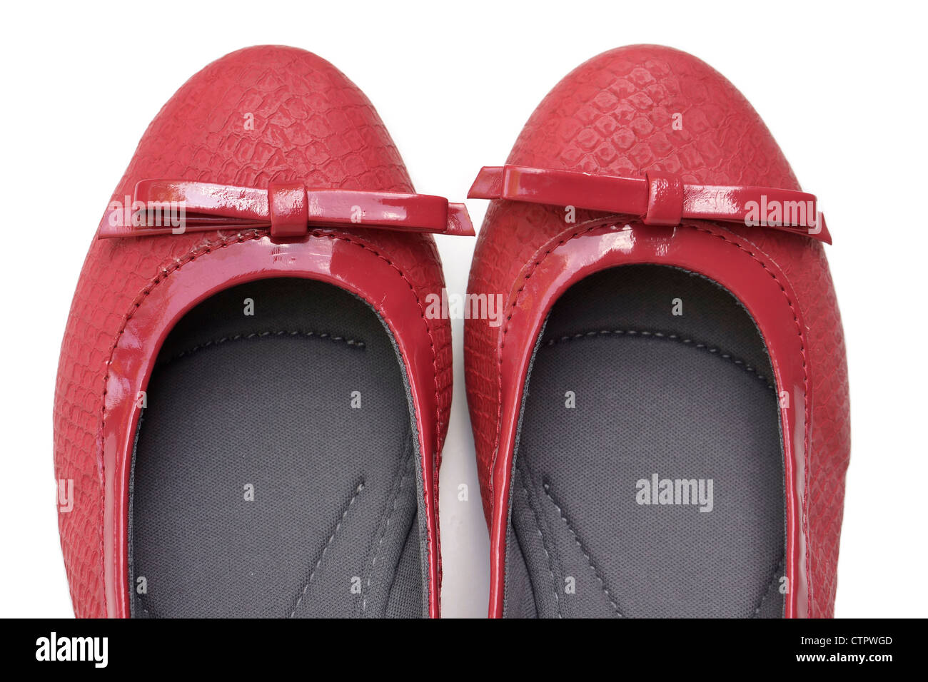 cffbf90d117 Red Slippers Footwear Stock Photos   Red Slippers Footwear Stock ...